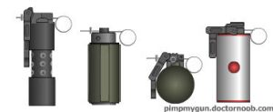 Standard Grenades by dronner66