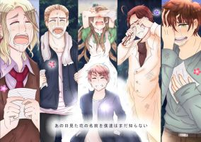 [Hetalia and Anohana ] We Found You by Billica-Riverdine