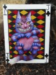 Cheshire Cat Shield by meanlilkitty