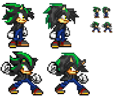 Nero - New Sprite Design by Nero-TH