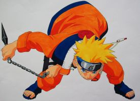 I'm All Fired Up! - Naruto Uzumaki by SakakiTheMastermind