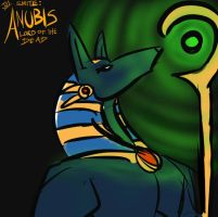 Anubis - Lord of the Dead. by Joahnaut