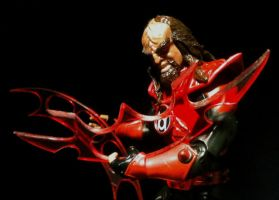 RED LANTERN CORPS KLINGON 2 by aka-maelstrom