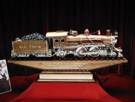 Master Carving of Big Four by SteamRailwayCompany