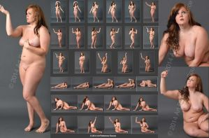 Stock: Courtney, 30 Classic Nudes by ArtReferenceSource