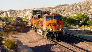 BNSF 7744 at the Narrows by photogatlarge