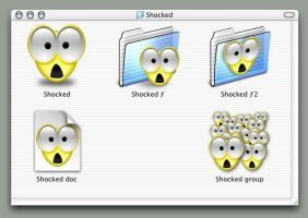 Shocked Icons by smhill