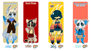 ADOPTABLES - Set 2 - OPEN by Angel-Balance