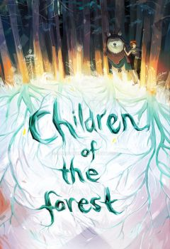 Children Of The Forest Book Cover by Cleagane