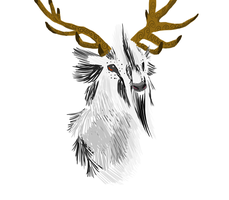 Stag by GoWaterTribe