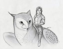 More Owl Griffin by RobtheDoodler