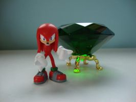 Knuckles and the Master Emerald by 6SeaCat9