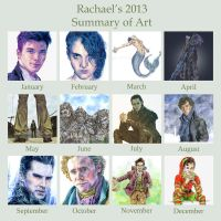 2013 Art Summary by ThePotatoStabber