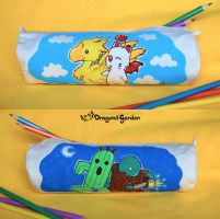 Final Fantasy - Pencil case by Dragons-Garden