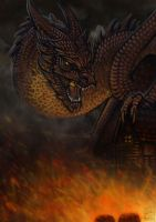 Smaug the Magnificent by FieryGabreilla