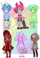 Over the Rainbow Adopt set [closed] by notsafeforcourt