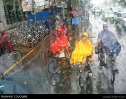 Raining Colours by innoxism