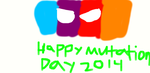 Happy Mutation Day 2014 by dmonahan9