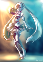 Quick Hatsune Miku by Nsio