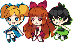 Powerpuff Girls by pyrogoth