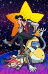 A Dandy in space by MildKat