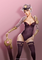 Popstar Riven Photostudy by cheesewoo