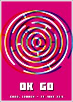 Ok Go - Poster by Euskera