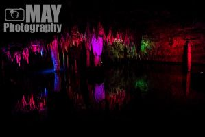 Colored Caverns lights by Askingtoattackmeghan