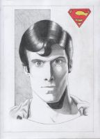 Superman - Pencils by jpaolonovelli