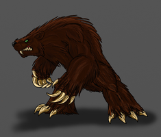 Dec. Request-Werebear by Scatha-the-Worm