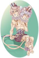 COM: Siamese Twins by Poifish
