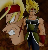 Bardock - Father of Gokou by peeping-doom