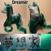 Dreamer Kanji Pony by customlpvalley