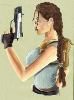 Lara Croft by DameOdessa