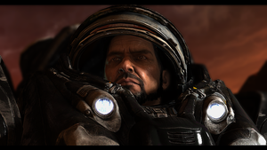 Jim Raynor, Leader and Warrior by superreddevil