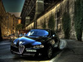 Alfa Romeo HDR by youwha