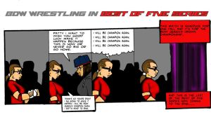 BOW Wrestling in best of five series  by RWhitney75