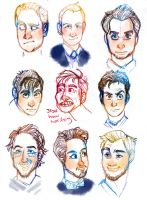 Face practise - celebs by mmishee