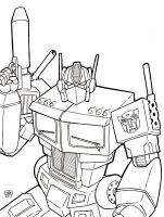 Optimus Prime Line Art by TheRigger