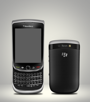 BlackBerry 9800 Torch by GraphicsBerry