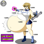 Gaining (Life points) by CadenGallic