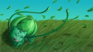 Bulbasaur by Cheesedemon88