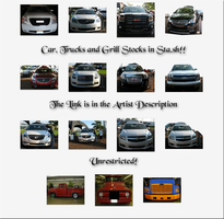 Car, Truck and Grill Preview Pane by WDWParksGal-Stock