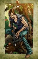 Daryl and Merle Collaboration by PsychoSlaughterman