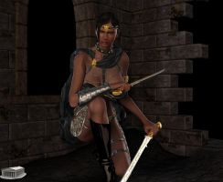 Huntress by Athenion