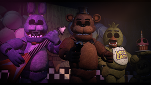 Cursed..... (fnaf sfm) by JR2417