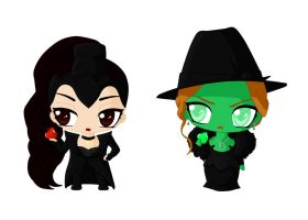 Evil-Wicked Sisters by Selene-Cruxe