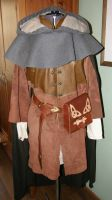 My medieval wear by Lathron