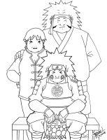 Akimichi Family Portrait by SentouRyoku