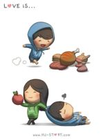 51. Love is... Fruit by hjstory